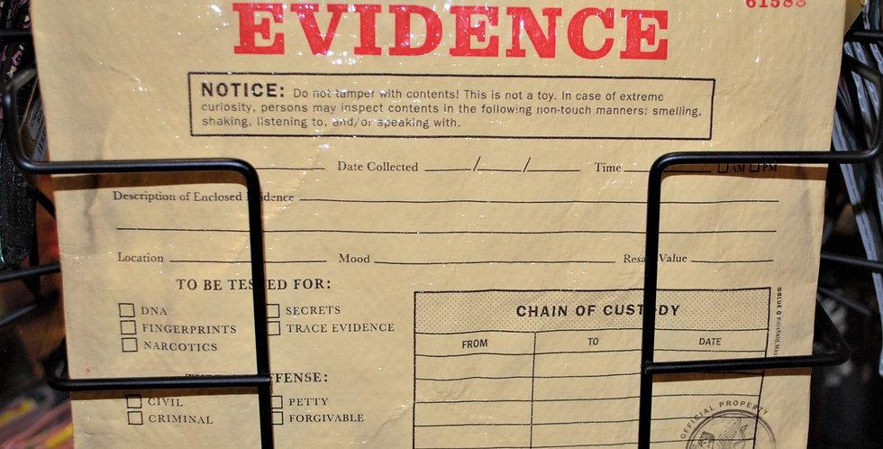 Zipper pouch - EVIDENCE