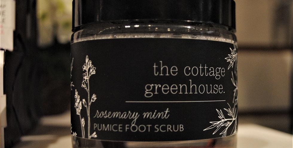 Pumice foot scrub - Rosemary mint