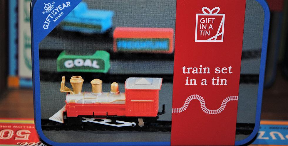 Gift tin - Train set