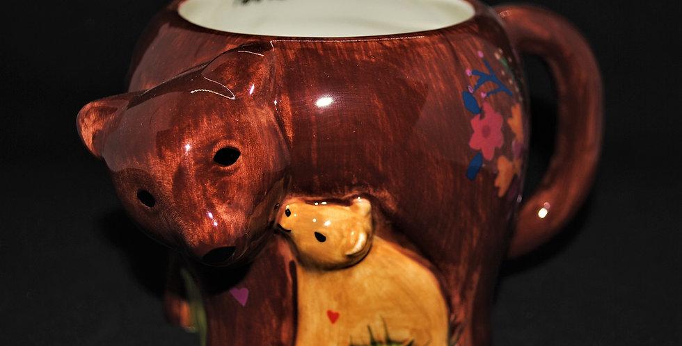 Mama bear ceramic mug
