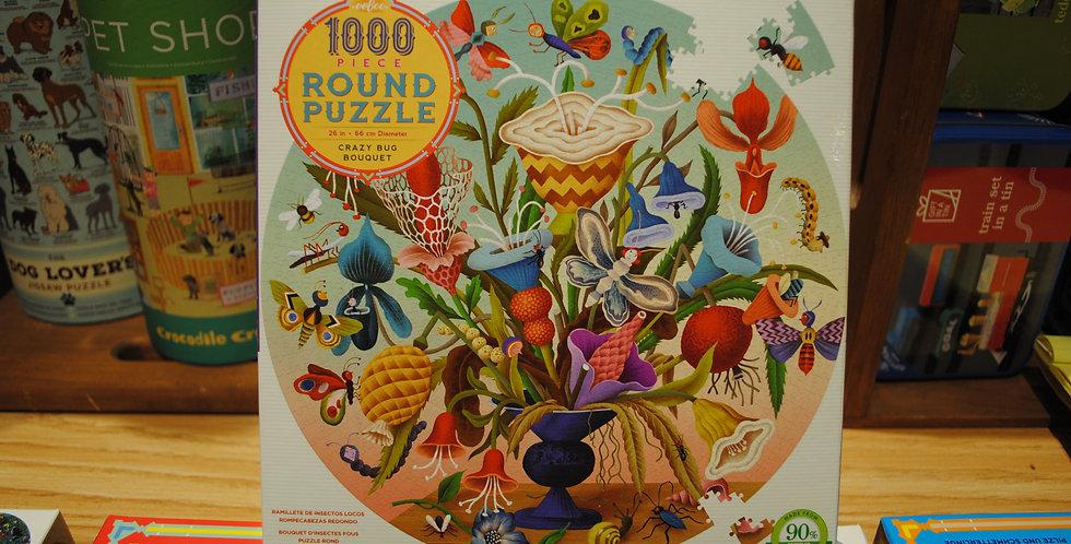 Puzzle - Crazy bug bouquet