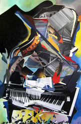Trencadís de piano