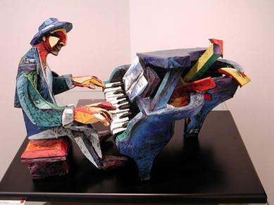 escultura piano