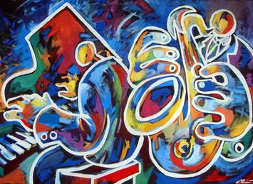 Jazz blau