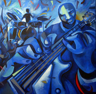 Guitarrista blau