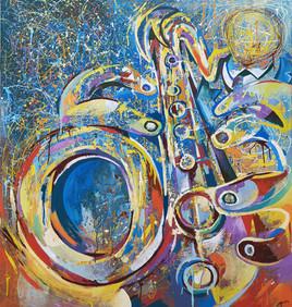 Dripping sax