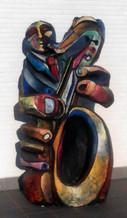 saxo escultura