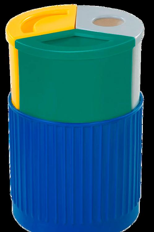 VWN0048 Estacion de Reciclaje Doble 30 Lts.