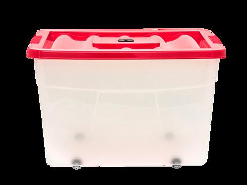 Caja ERICK 37 Con Tapa 65 Lts. 58.3 cm x 40.0  cm x 37.5