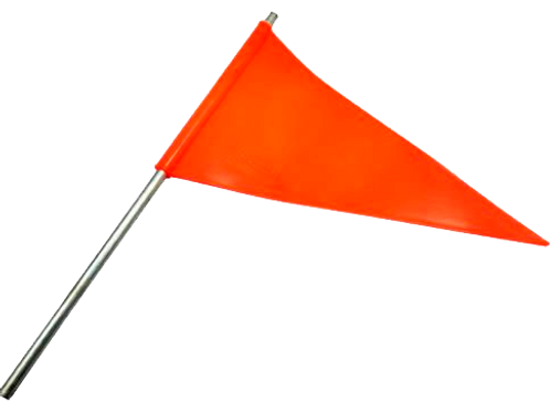VIM0003 Banderin triangular para Camion