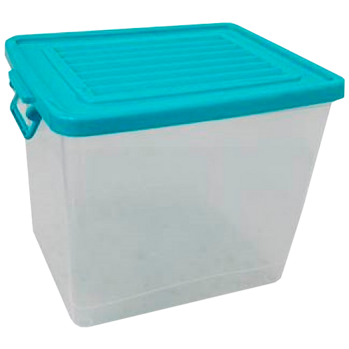 VEU0228 Caja LEO Organizadora Con Tapa 33 Lts. 42.0 cm x 32.0  cm x 32.5