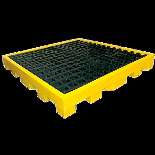 VMS0434 Plataforma Antiderrames para 4 tambos