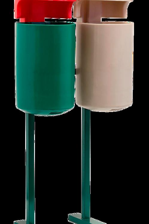 VWN0032 Estacion de Reciclaje Doble 60 Lts.