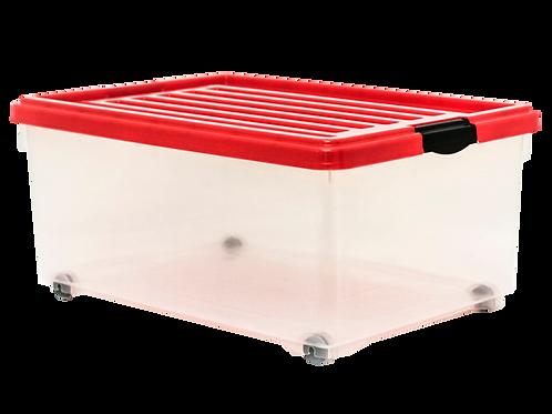 VEU0229 Caja MONACO CH Con Tapa 36 Lts. 54.7 cm x 39.5  cm x 25 cm