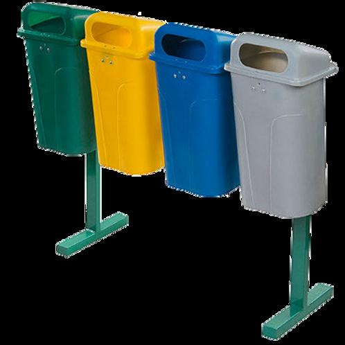 VWN0041 Estacion de Reciclaje Cuadruple 200 Lts.