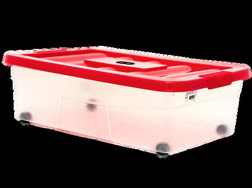 VEU0224 Caja ERICK 20 Con Tapa 42 Lts. 58.0 cm x 39.0 cm x 19.0