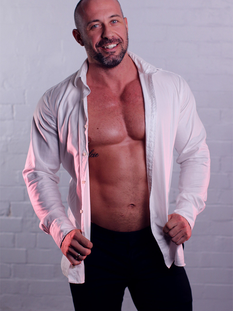 Trent - Male Topless Waiter Sydney