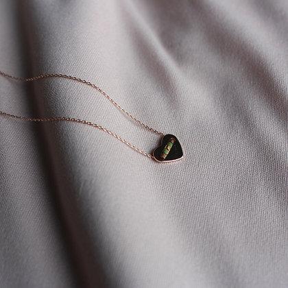 ROSÈ HEART Halskette