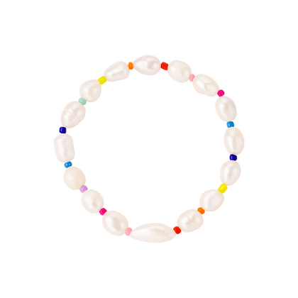 RAINBOW PEARL Armband