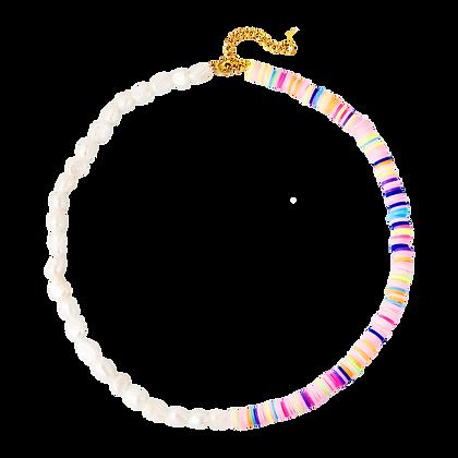 RAINBOW PEARL Halskette