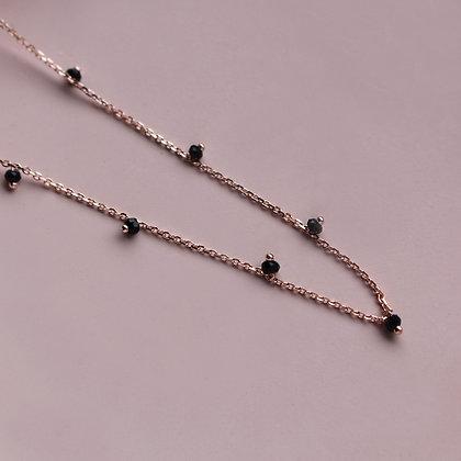 BLACK DIAMOND  Halskette