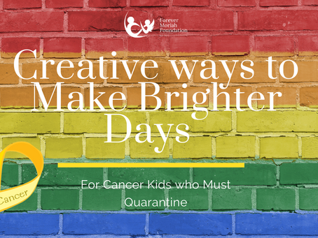 Creative ways to Make Brighter Days for Kids who must Quarantine