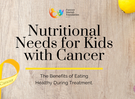 Nutritional Needs for Kids with Cancer