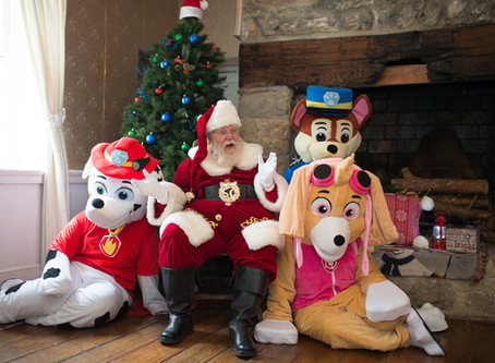 Breakfast with Santa and the Pups Toy Drive Event