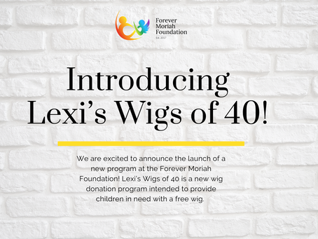 Introducing… Lexi's Wigs of 40!