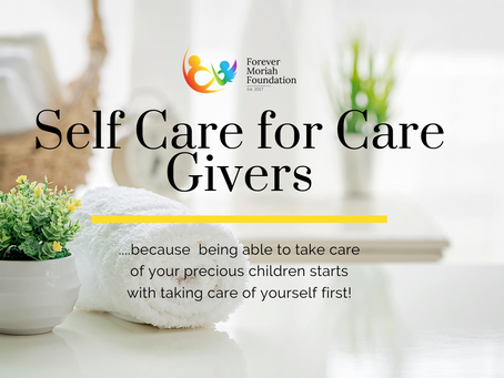 Self Care for Care Givers