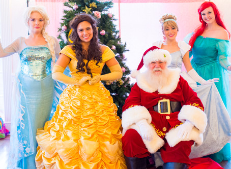 Princess Tea Party with Santa and the Princesses   Toy Drive Event
