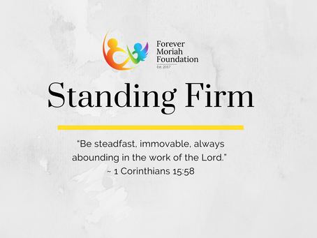 Standing Firm (Parent's Devotional)