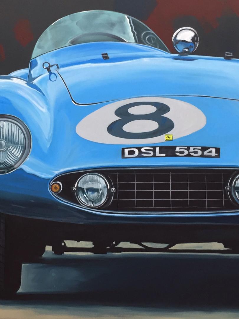 Blue Ferrari #8