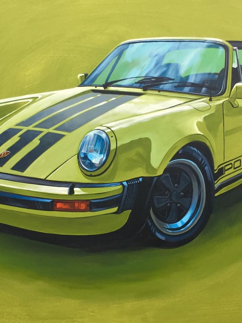 "Yellow Targa ""Turbo-Look"""