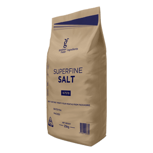 Goodman Fielder Ingredients Superfine Salt 25KG