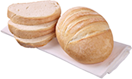 Medium Cob Loaf White (245GX25)