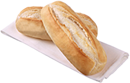 Large Sandwich Sub White Par Bake (160GX36)