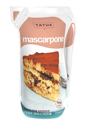 Tatua Marscapone Cheese 1KG (12)