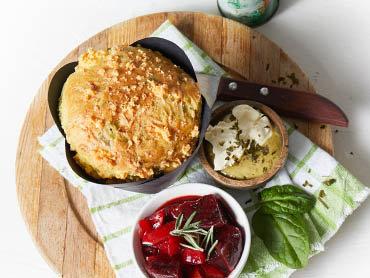 Helens Baby Spinach & Fetta Savoury Muffins 180G (6)