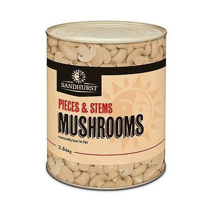 Sandhurst Mushroom Stems & Pieces 2.84KG A10 (6)
