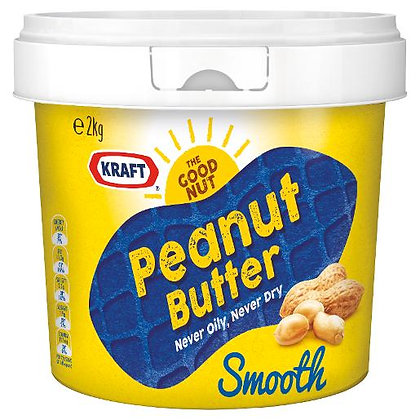 Bega Peanut Butter Smooth 2KG