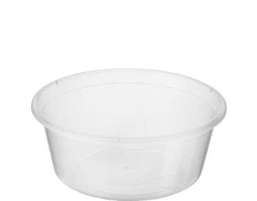 MicroReady® Round Takeaway Container 280ml Clear (100's)