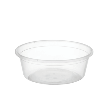 MicroReady® Round Takeaway Container 225ml Clear (100's)