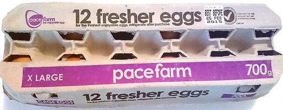 Pace Fresher Eggs Extra Large 700G (15X12Dozens)