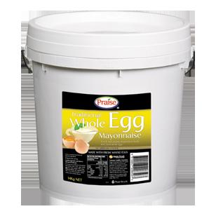 Praise Traditional Whole Egg Mayonnaise 14kg