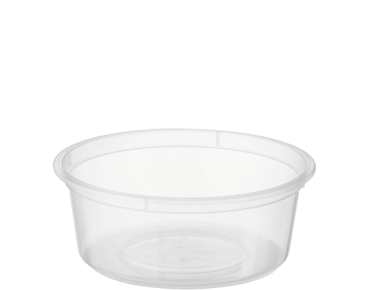 MicroReady® Small Round Takeaway Container 120ml Clear (100's)