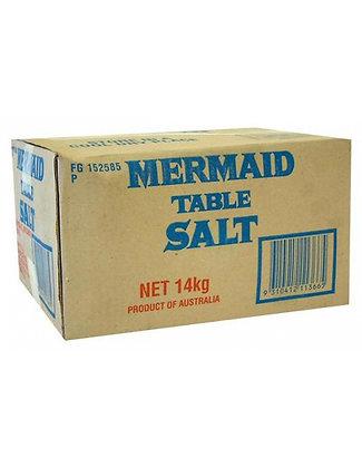 Mermaid Plain Table Salt 14KG