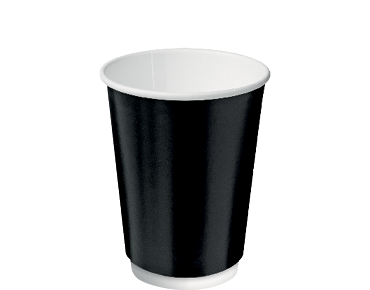 Castaway® Double Wall Insulcups® Coffee 12oz Black (25's)