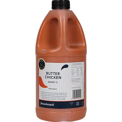 French Maid Butter Chicken Sauce 2L (6)