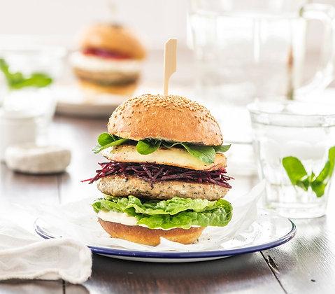 Angel Bay Lamb Kofta Burgers 120G X 60 Burgers